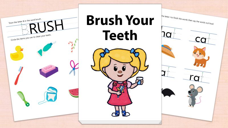 Image for Brush Your Teeth – Printables