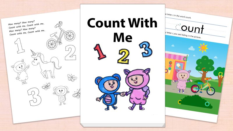 Image for Count With Me – Printables