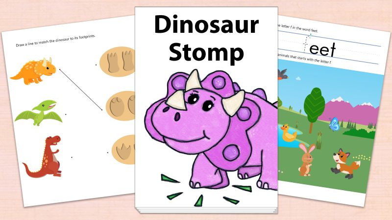 Image for Dinosaur Stomp – Printables