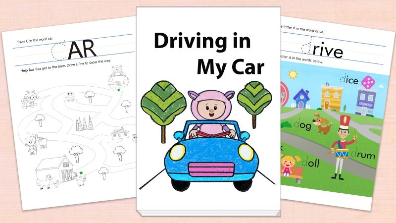 Image for Driving in My Car – Printables
