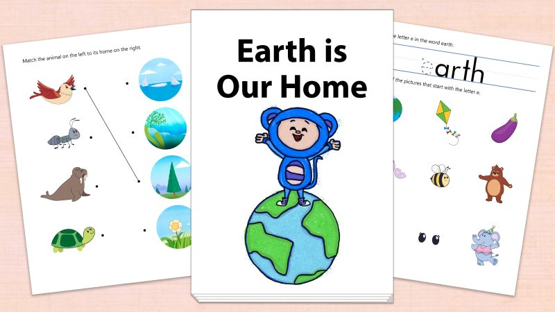 Image for Earth is Our Home – Printables