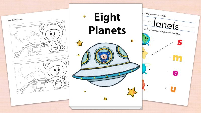 Image for Eight Planets – Printables