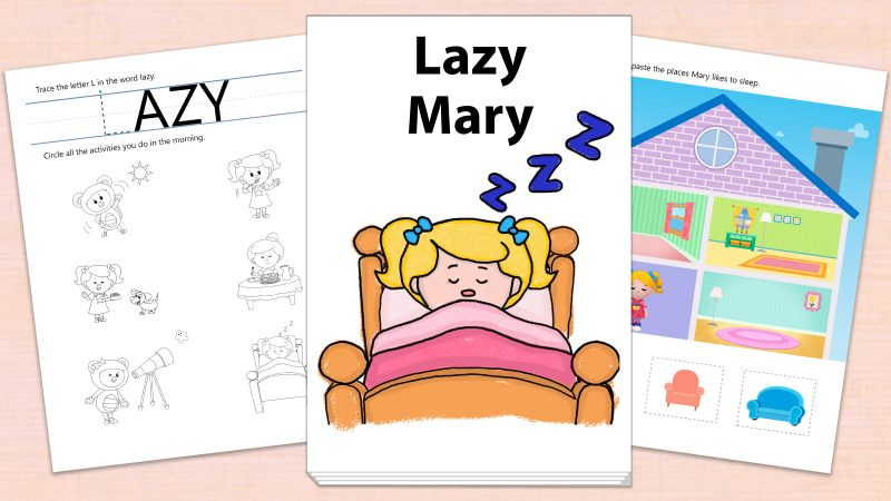 Image for Lazy Mary – Printables