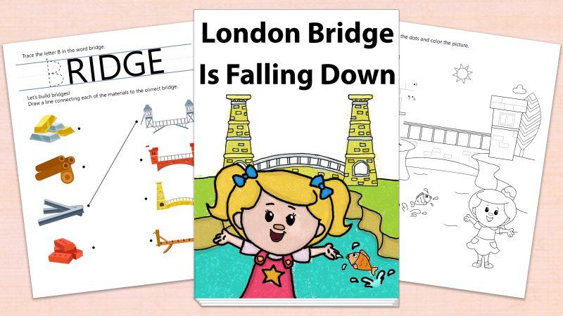 Image for London Bridge Is Falling Down – Printables