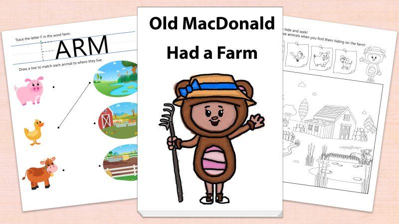 Image for Old MacDonald Had a Farm – Printables
