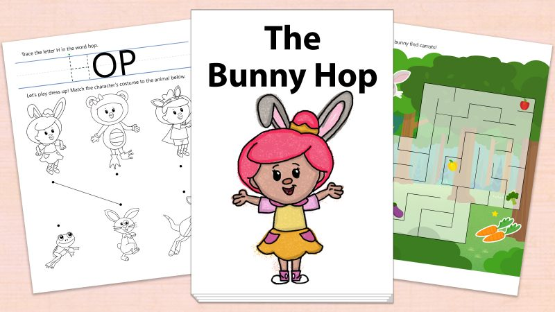 Image for The Bunny Hop – Printables