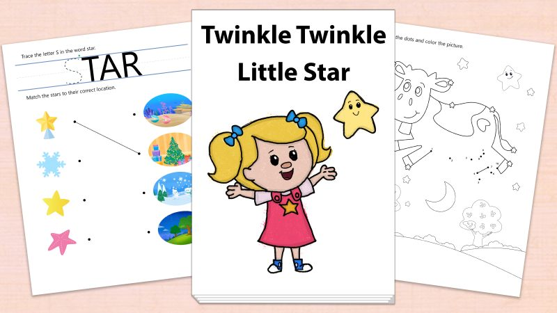 Image for Twinkle Twinkle Little Star – Printables