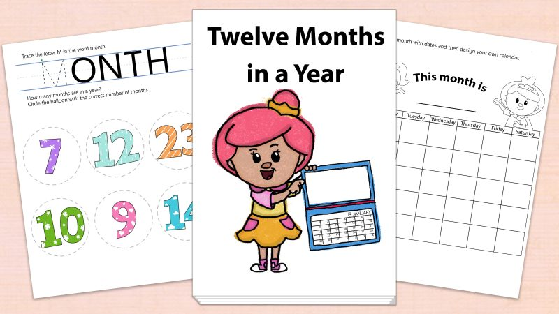 Image for Twelve Months in a Year – Printables