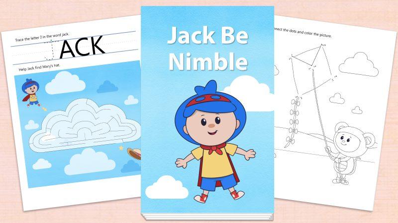Image for Jack Be Nimble – Printables